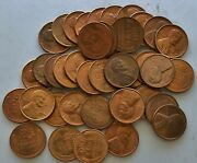 1944 S Lincoln Cent - Uncirculated / Bu Red - Roll