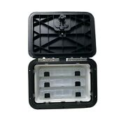 Innovative Product Solutions 530-109 11 X 15 Black Boat Tackle Center