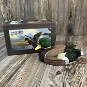 Marbles Mallard Duck Decoy And Collectible Folding Knife Stainless Blade