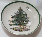 Spode Christmas Tree Individual 8 5/8 Pasta Bowl Made In England Excellent