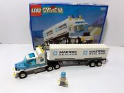 Lego Classic Town Cargo Maersk Line Container Lorry 1831 1995 Vintage Iob