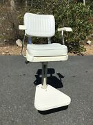 Pompanette P 2000 Ladderback Hekm Chair With Cushions