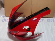 Head Front Cowl Nose Plastic Fairing Fit For Yamaha Yzf R1 2000 2001 Red Black