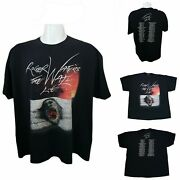 Roger Waters The Wall Live 2012 Tour Official Pink Floyd T-shirt Mens Xxl Unisex