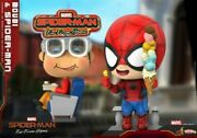 Hot Toys Cosb642 Far From Home Movbiandspider-man Cosbaby Mini Figure Toy Gifts