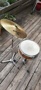 Vintage Snare Drum . Caisse Claire Cymbale Ancienne