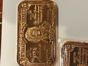 25 Ounces Of Indian Chief 5 Dollar Design In 25 Copper Bars By Reedersong