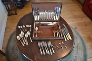 Antique Sheffield Silver Plateand Cutlery Firth Stainless X44 From 1910s/1920s