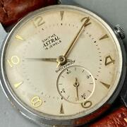 Smiths Astral 32mm Stainless Manual Watch Used Vintage Antique 1961 Overhauled