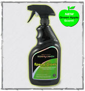 Marine Wax. Performance Boat Candy Speed Gloss 32oz.boat Wax. Water Spot Remover