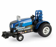 1/64 Scale Ertl New Holland Puller Tractor The Blue Streak Sale 9.89