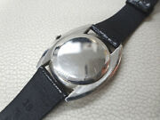 Cal.403 Manual Winding Inter Silver 33mm Stainless Watch Used Antique Rare