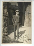 1924 Chinese American Minnesota H.y. Kwong Signed Photo Very Rare Asian