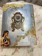 Disney And The Beast 2017 Cogsworth Clock Brand New In Box Rare