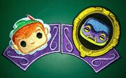 Funko Disney Treasures Lot Of 2 Collectible Patches Peter Pan Magic Mirror