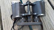 Wwii German Binoculars With Eye Cover Works Good Some Surface Marks Intl Sale