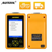 Autool Bt-460 Car Battery Tester Charging System Analyzer For 12/24v Car Truck