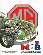 Mg Mgb Mgc Roadster Gt Coupe And V8 1962-81 Development And Production History Book