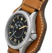 Sinn 856.b-uhr Menand039s Watch Limited Edition Black Dial Leather Band Automatic
