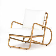 36 D Indoor Outdoor Rustic Beach Club Chairs Bamboo Styled Aluminum Wicker