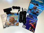 Little Big Planet 2 Special Edition - Ps Move Bundle Ps3 - Complete Tested Cib