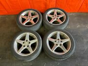 02-04 Acura Rsx Type S - Factory 16 Inch Wheels And Tires - Rims - Oem Oe - 39