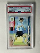 2006 Panini Soccer World Cup 47 Lionel Messi Rookie Germany Psa 8 Goat 🐐 📈