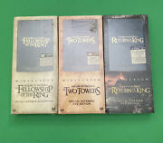 Lord Of The Rings Trilogy Special Edition Tall Boxes Dvd Brand New Rare