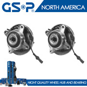 2 Front Wheel Bearing And Hub Assembly For 2003 2004 2005 2006 Ford Expedition 4x4