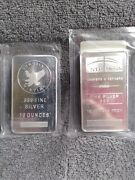 Two 10 Oz Bars. 20 Ounces Total Prepare Now. Wonand039t Last Silver Will Go Up..