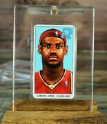 Lebron James Rookie Rc Card 2003 Cleveland Cavaliers Tobacco Card