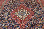 9and0397 X 12and0399 Fine Blue Semi Antique Handmade Wool Area Rug Oriental Carpet 10 X 13