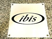 Ibis Cycles Banner Sign Shop Wall Garage Mountain Bike Trail Downhill Bicycles