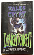 Tales From The Crypt Demon Knight Paperback Horror Book 1995 1st Printing Rare