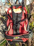 Atlas Fast Pack For Snowshoes. Med Size Backpack For Winter Outdoor Sports.