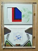 2020 Zack Moss Playbook Rookie Autograph Patch Printing Plate Booklet Rc 1/1 🔥