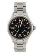Sinn 856.b-uhr Ss Breath Black Dial Automatic Menand039s 856 Limited Very Good Boxed