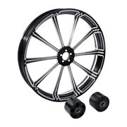 30 Front Wheel Rim Dual Disc Wheel Hub Fit For Harley Touring Models 08-21 18