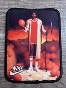 Vintage Nike 1980's Patch Moses Malone Poster Image Basketball Shoes Og Rare