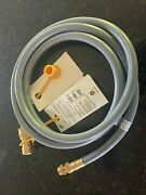 Realflame Ksun Natural Gas Quick Connect Hose Dh24 - 10.5 Ft - New Ships Free