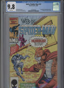 Web Of Spiderman 19 Mt 9.8 Cgc 1st App. Of Humbug White Pages Bright Cover Silv