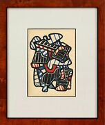 Jean Dubuffet - Great Art On Old Paper Best Price