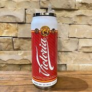 Cerveza Victoria Personalized Stainless Steel Thermo Can. Man Cave Beer Party