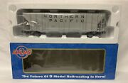 ✅atlas O 3-rail Northern Pacific Ps-4427 Low Side Covered Hopper Car O Scale