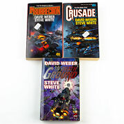 David Weber Starfire Series Insurrection 1, Crusade 2 And In Death Ground 3