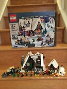 Lego 10229 Winter Village Cottage - Complete With Manuals And Box