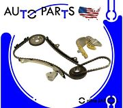Engine Timing Chain Kit For 2002-2006 Nissan Sentra, Altima And X-trail 2.5l L4