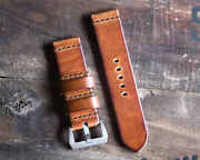 Stonewall Strap Co. For Band Antique Vintage Leather 38mm 42mm 44mm 45mm