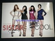Sistar The First Album So Cool Autographed Signed Cd Good Hyolyn Soyou Signed