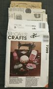 Mccalls Crafts 7399 Sew Organized Needlecase Sewing Pouch Chatelaine Pattern.